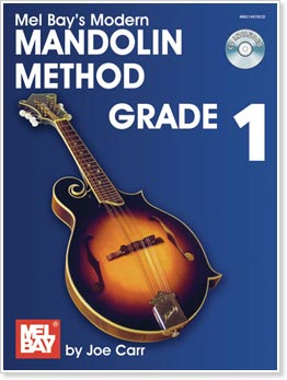 Modern Mandolin Method Grade 1 Book/CD Set by Joe Carr