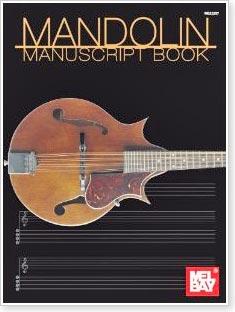 Mel Bay's Mandolin Manuscript Book