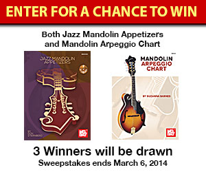 Mel Bay Mandolin Book Giveaway