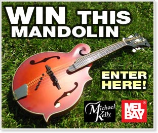 Mel Bay and Michael Kelly Mandolin Giveaway