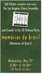 CD Release Party - Memorias do Brasil