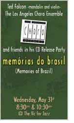 CD Release Party - Memorias do Brasil