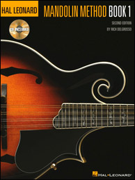 The Hal Leonard Mandolin Method by Rich DelGrosso, 1986. Click to purchase.
