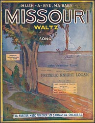 The Missouri Waltz Sheet Music - Click to visit State of Missouri official state song page