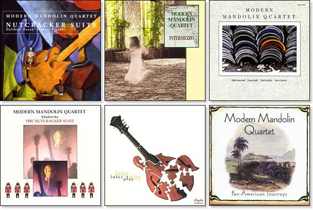Modern Mandolin Quartet recordings