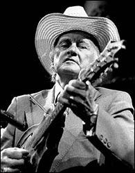 Bill Monroe. Photo credit unknown.