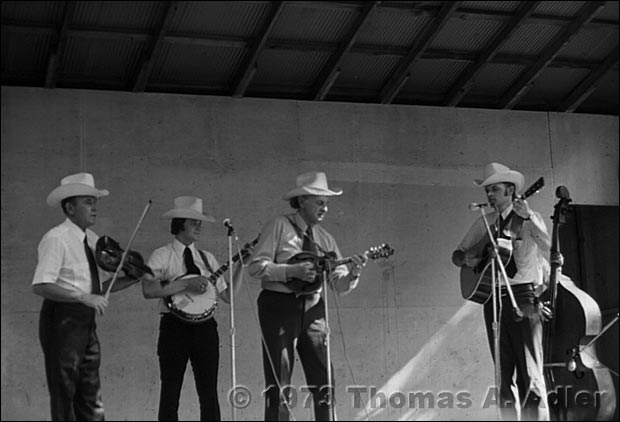 Bill Monroe and His Blue Grass Boys at Bean Blossom, 1973