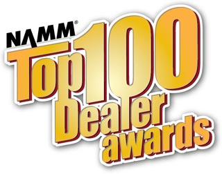 NAMM 2013 Top 100 Dealer Awards