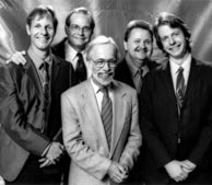 Nashville Bluegrass Band, 1991. L-R Gene Libbea, Alan O'Bryant, Roland White, Pat Enright, Stuart Duncan.
