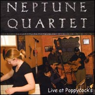 Neptune Quartet's latest recording, Live at Poppycock's. Click to purchase.