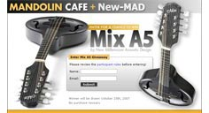 New Millennium Acoustic Design - Mix A5 Mandolin Giveaway