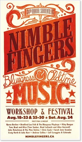 NimbleFingers Bluegrass and Old Time Workshops and Festival