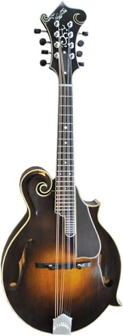 Northfield Model NF-F5M F-Style mandolin. Click to enlarge.