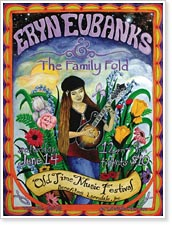 Eryn Eubanks and The Family Fold Old Time Music Festival