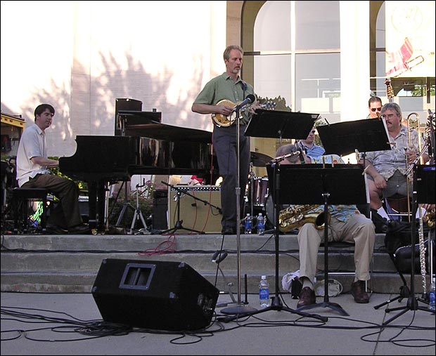 Paul Glasse at Lincoln, Nebrask's Jazz in June
