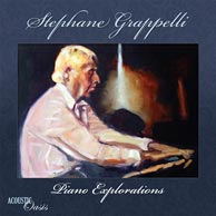 From the soon-to-be-released Acoustic Oasis project Stephane Grappelli, Piano Explorations.