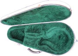 The new flight case option for mandolin from Colorado Case Company.