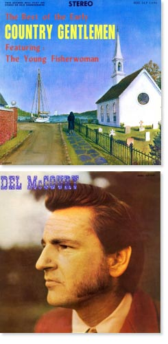 Country Gentlemen and Del McCoury Digitial Reissues