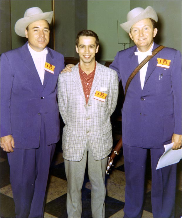 Roland White with Earl Scruggs and Lester Flatt