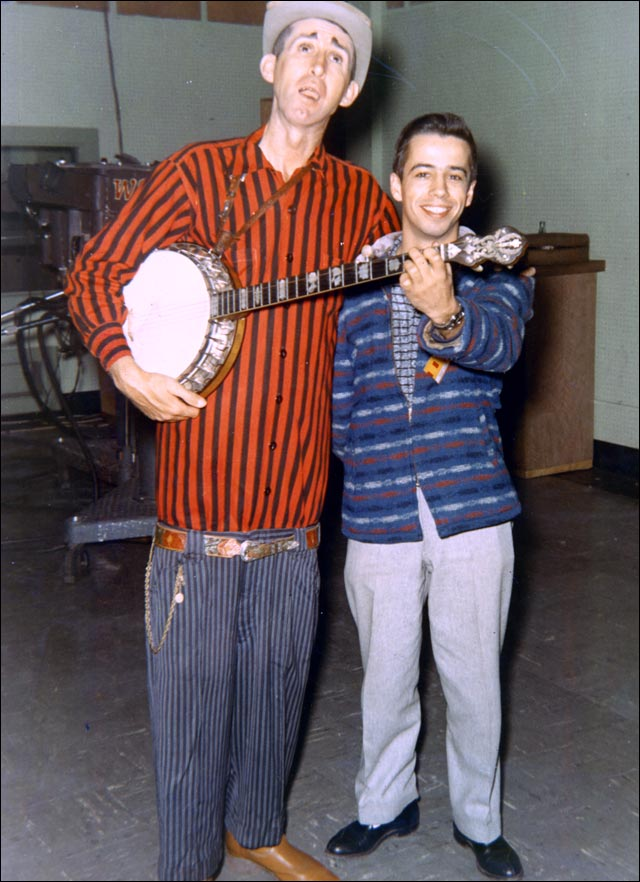 Roland White with Stringbean