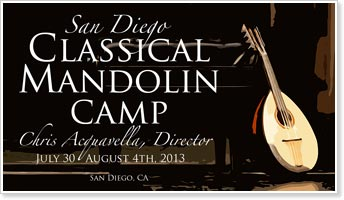 2013 San Diego Classical Mandolin Camp