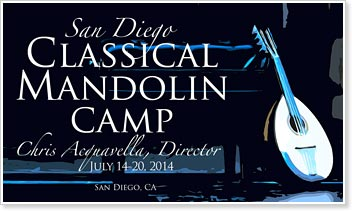 2014 San Diego Classical Mandolin Camp
