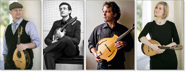 2014 San Diego Classical Mandolin Camp instructors