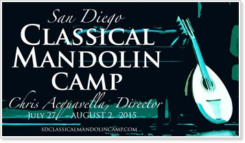 2015 San Diego Classical Mandolin Camp