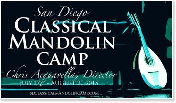 2015 San Diego Classical Mandolin Camp