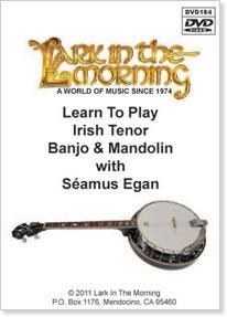 Learn to Play Irish Tenor Banjo and Mandolin, by Seamus Egan