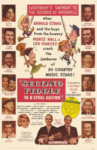 Second Fiddle To A Steel Guitar movie poster - 1965.