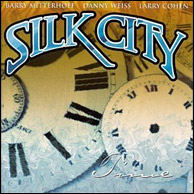 Barry's band with Danny Weiss and Larry Cohen, Silk City, from 2000. Click to purchase.
