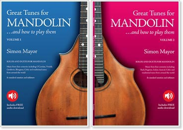 Simon Mayor - Vol. I-II Great Tunes For Mandolin