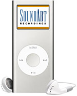 SoundArt Recordings and Mandolin Cafe Apple iPod Giveaway
