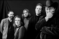 Steeldrivers, L-R: Richard Bailey, Tammy Rogers, Chris Stapleton, Mike Fleming, Mike Henderson. Click to enlarge. Photo credit, band web site