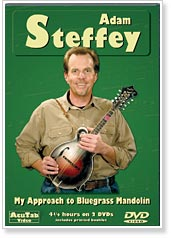 Adam Steffey - My Approach To Bluegrass Mandolin DVD