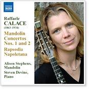 Alison Stephens - Calace Concertos Nos. 1 & 2 for Mandolin and Piano