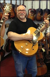 Retrofret Vintage Guitars owner and founder, Steve Uhrik