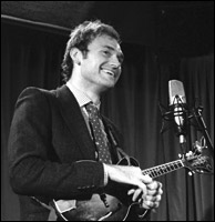 Chris Thile performing solo in London at the Borderline, September 13, 2011 with Loar #75316. Photo credit: Dan Beimborn.