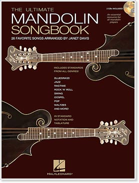 Hal Leonard Presents The Ultimate Mandolin Songbook